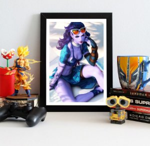 Quadro Decorativo Widowmaker - Overwatch - QV309