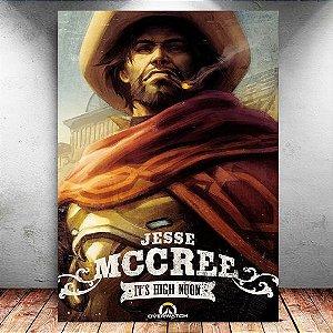 Placa Decorativa MDF McCree - Overwatch - PMDF311