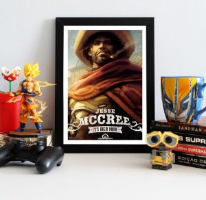 Quadro Decorativo McCree - Overwatch - QV311