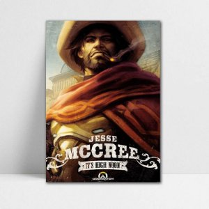 Poster A4 McCree - Overwatch - PT311
