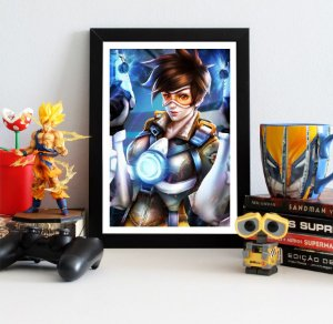 Quadro Decorativo Tracer - Overwatch - QV318