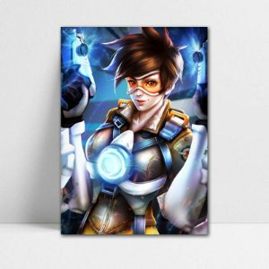Poster A4 Tracer - Overwatch - PT318