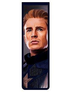 Marcador De Página Magnético Capitão América - Avengers - MMA124