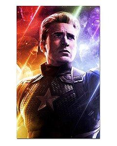 Ímã Decorativo Capitão América - Avengers Endgame - IQM10