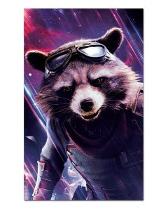 Ímã Decorativo Rocket Raccoon - Avengers Endgame - IQM20