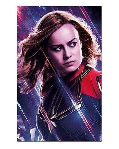 Ímã Decorativo Capitã Marvel - Avengers Endgame - IQM25