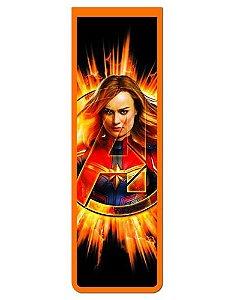 Marcador De Página Magnético Capitã Marvel - Avengers - MMA126