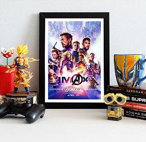 Quadro Decorativo Avengers Endgame - QV407