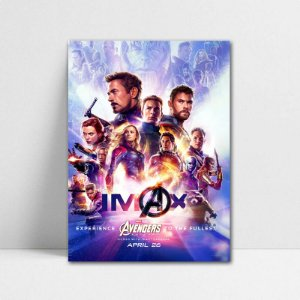 Poster A4 Avengers Endgame - PT407