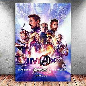 Placa Decorativa MDF Avengers Endgame - PMDF407
