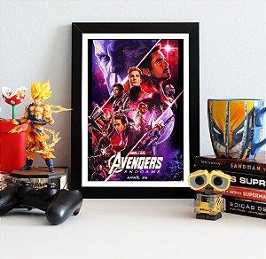 Quadro Decorativo Avengers Endgame - QV408