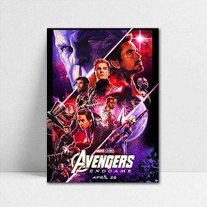 Poster A4 Avengers Endgame - PT408
