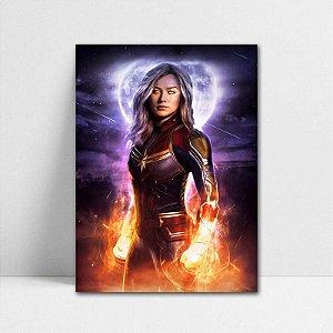 Poster A4 Capitã Marvel - Avengers Endgame - PT409
