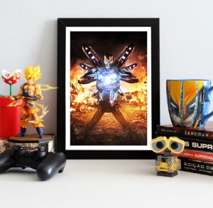 Quadro Decorativo Iron Man - Avengers Endgame - QV412