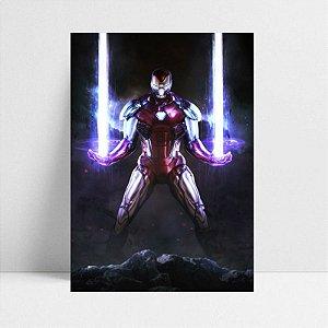 Poster A4 Iron Man - Avengers Endgame - PT413