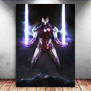 Placa Decorativa MDF Iron Man - Avengers Endgame - PMDF413