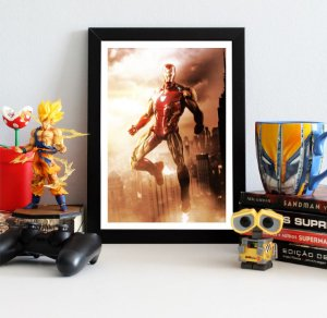 Quadro Decorativo Iron Man - Avengers Endgame - QV414