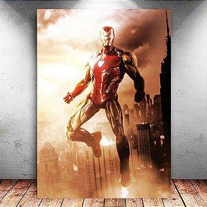 Placa Decorativa MDF Iron Man - Avengers Endgame - PMDF414