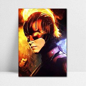 Poster A4 Capitã Marvel - Avengers Endgame - PT415