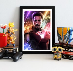 Quadro Decorativo Iron Man - Avengers Endgame - QV418