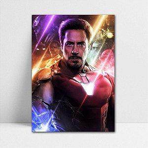 Poster A4 Iron Man - Avengers Endgame - PT418