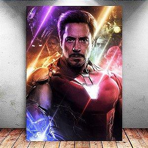 Placa Decorativa MDF Iron Man - Avengers Endgame - PMDF418