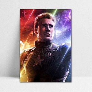 Poster A4 Capitão América - Avengers Endgame - PT419