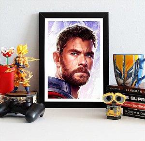 Quadro Decorativo Thor - Avengers Endgame - QV420