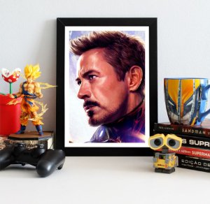 Quadro Decorativo Iron Man - Avengers Endgame - QV421