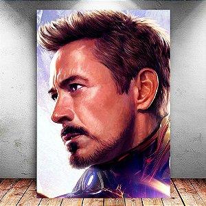 Placa Decorativa MDF Iron Man - Avengers Endgame - PMDF421