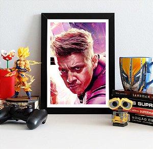 Quadro Decorativo Hawkeye - Avengers Endgame - QV422