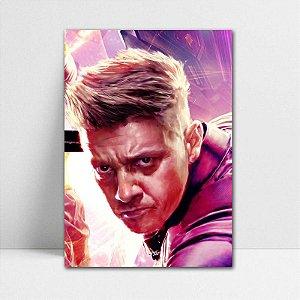 Poster A4 Hawkeye - Avengers Endgame - PT422