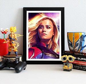 Quadro Decorativo Capitã Marvel - Avengers Endgame - QV423