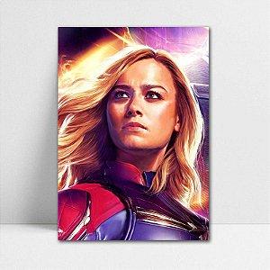 Poster A4 Capitã Marvel - Avengers Endgame - PT423