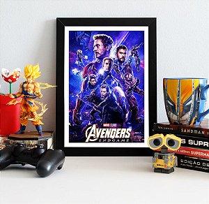 Quadro Decorativo Avengers Endgame - QV424