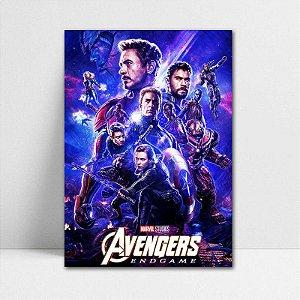 Poster A4 Avengers Endgame - PT424