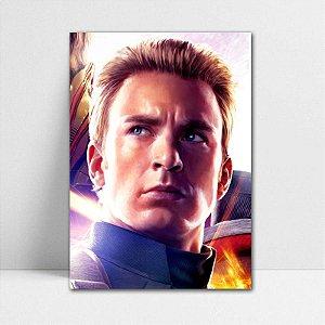 Poster A4 Capitão América - Avengers Endgame - PT425