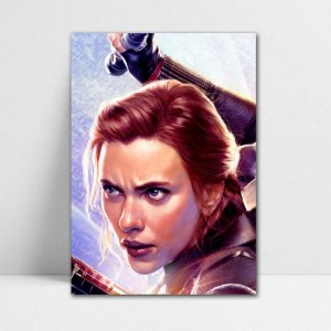 Poster A4 Black Widow - Avengers Endgame - PT426