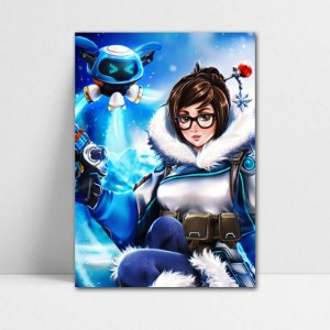 Poster A4 Mei Ling - Overwatch - PT316