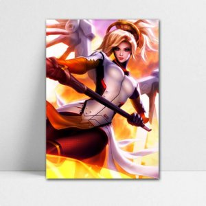 Poster A4 Mercy - Overwatch - PT320