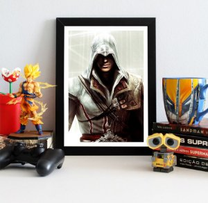 Quadro Decorativo Ezio - Assassin's Creed - QV321