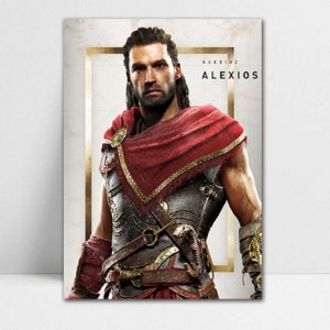 Poster A4 Alexios - Assassin's Creed - PT322
