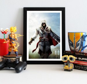 Quadro Decorativo Ezio - Assassin's Creed - QV323