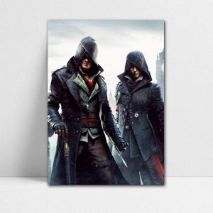 Poster A4 Jacob e Evie - Assassin's Creed - PT324