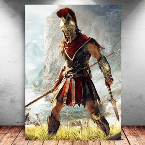 Placa Decorativa MDF Alexios - Assassin's Creed - PMDF326