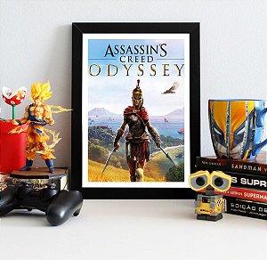 Quadro Decorativo Kassandra - Assassin's Creed - QV342