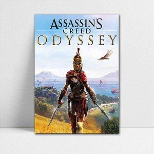 Poster A4 Kassandra - Assassin's Creed - PT342