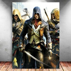 Placa Decorativa MDF Arno - Assassin's Creed - PMDF327