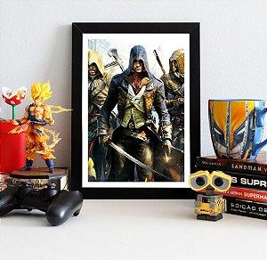 Quadro Decorativo Arno - Assassin's Creed - QV327