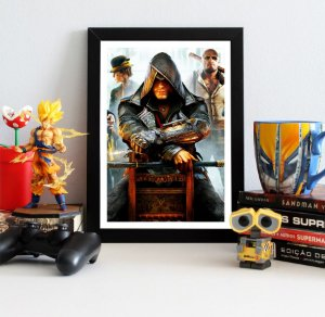 Quadro Decorativo Jacob - Assassin's Creed - QV328